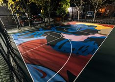 Kaws holds court on New York's Lower East Side with a slam-dunkin' new public art project, Stanton Street Courts by Kaws Nike. Basketball Park, Street Basketball, Indiana Basketball, Curry Basketball, Basketball Birthday, Basketball Socks, Basketball Quotes, College Basketball, Lower East Side