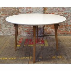 Eco-Natura Anja Round Dining Table - Click to enlarge