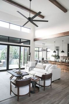 Best Home Interior Living Room Furniture Layout Open Concept Ideas Simple Living Room, Living Room Modern, Living Room Interior, Home Living Room, Living Room Designs, Living Room Open Concept, Open Living Rooms, Cozy Living, Living Room Ideas Open Floor Plan
