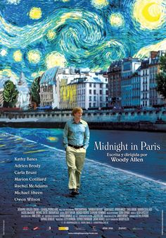 Oscar Nominees Midnight In Paris, starring Owen Wilson and Rachel Mcadams, directed by Woody Allen Hindi Movies, All Movies, Movie Tv, Movie Titles, Movies 2019, Movie Quotes, Movies Online, Movie Posters, Marion Cotillard