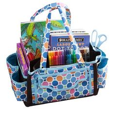 Cart Door Sweep, Tote Storage, Gym Gear, Travel Essentials, Large Bags, Diaper Bag, Craft Supplies, Dots, Dividers