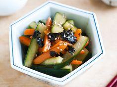 いつもの食卓を少し特別に レシピサイトNadia / 美腸。きゅうりと人参の黒酢漬け