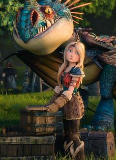 Astrid & her dragon Httyd Dragons, Dreamworks Dragons, Httyd 3, Dreamworks Animation, Disney And Dreamworks, Hiccup, How To Train Dragon, How To Train Your, Hicks Und Astrid