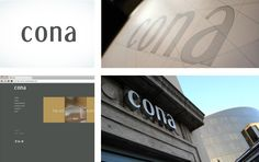 Identity & Website designed for Cona, Bradford Bradford, Identity, Website, Design, Design Comics