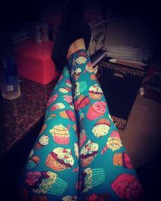LuLaRoe Cupcake leggings