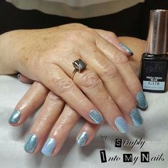 Gel II Frou Frou Blue with Magpie Elsa and Alice
