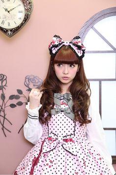 Misako Aoki in Baby, the Stars Shine Bright 'Sweet Cream Strawberry Days' JSK