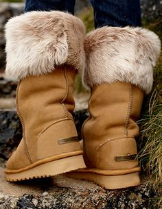 Our high quality ladies sheepskin boots are available in styles and up to 14 colours. Buy sheepskin shoes online now, made in the UK. Sheepskin Boots, Fur Boots, Cowgirl Boots, Shoe Boots, Cold Gear, Boot Socks, Crazy Shoes, Fashion Boots, Women's Fashion