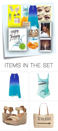 """""""Alex Debb, citrus swimmer."""" by cbnn-ruth ❤ liked on Polyvore featuring art and 107"""