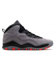 c93714051151 Air Jordan 10 Retro Gs Cool Grey Cool Grey Infrared Black 310806 023