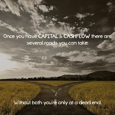 Learn how to create a positive cash flow for your current and future lifestyle