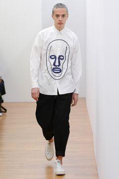 Comme des Garçons Shirt, Look #1
