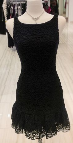 This dress is so fun! great for every occasion! pair it with a blazor or pashmina and wear it out on date night or pair it with stunning jewelry and wear it to a wedding or formal! #sopretty #classic #classicboutique #littleblackdress #formal #wedding #datenight #eastgwillimbury #pickeringtowncenter #stunning