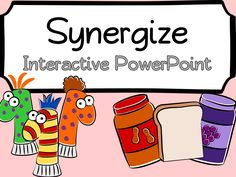 Synergize Interactive PowerPoint and Worksheet. Goes along perfectly with Habit 6: Synergize of Stephen Covey's 7 Habits and for Leader in me Schools. Great way to introduce the habit!