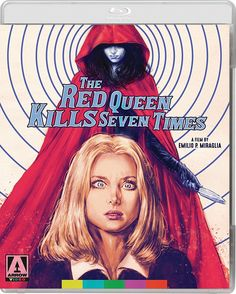 THE RED QUEEN KILLS SEVEN TIMES BLU-RAY (ARROW US)