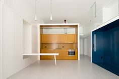 Apartment conversion features sleek space-saving modules - Curbed