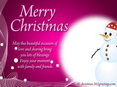 merry christmas wishes and messages - Christmas Message For Friends