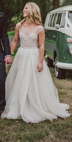 Paolo Sebastian, Swan Lake Size 8 Wedding Dress | Still White