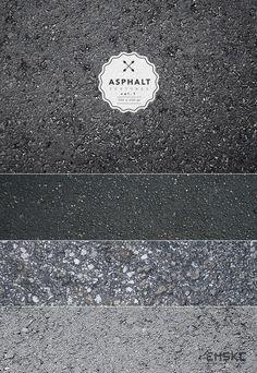 Free Asphalt Textures Vol. I