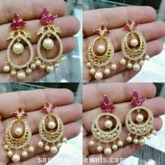 Designer 1 Gram gold chandbalis. Price 699rs + shipping cost. For inquiries contact +15857890204.