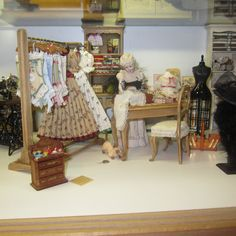 sewing room - corsets