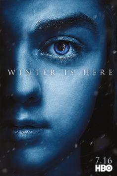 Game of Thrones: Season 7 Character Posters - Anya Stark
