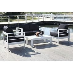 Nason 4-Piece Outdoor Living Set