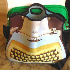Bolsa máquina de escrever