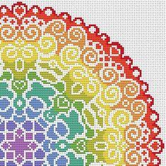 KIT Mandala Cross Stitch Kit M |
