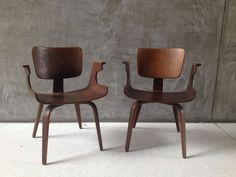 Thonet walnut chairs