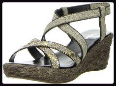 Vista Damen Sandaletten mehrfarbig, Größe:39;Farbe:Mehrfarbig - Sandalen für frauen (*Partner-Link)