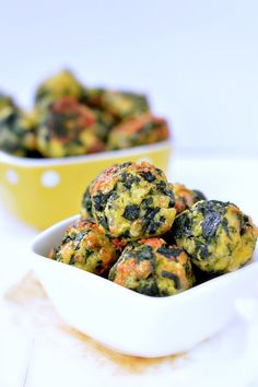 spinach cheesy balls