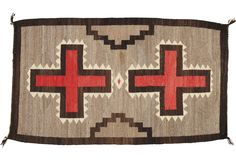 "Antique Navajo Rug, 2'3"" x 3'10"" - One Kings Lane - Vintage & Market Finds - Floor Coverings"