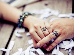 Cute Mr. and Mrs. Tattoos for Perfect Couples