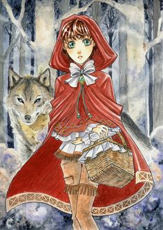Little Red Riding Hood - By ~SanoWasHere