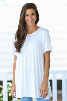 Piko Been There Off White Top at reddressboutique.com