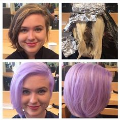 Hair color makeover by Brittany at Festoon Salon