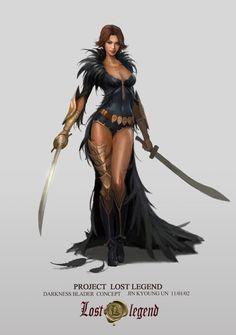 Fantasy_darkness blader old work fantasy girl, high fantasy, fantasy rpg, fantasy warrior, Fantasy Female Warrior, Warrior Girl, Fantasy Women, Fantasy Rpg, Medieval Fantasy, Fantasy Girl, Fantasy Artwork, Female Art, Warrior Princess