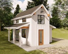 Tiny House Plans 746119863254164289 - Source by naominowakowski Best Tiny House, Modern Tiny House, Tiny House Cabin, Small House Design, Tiny House Living, Small House Plans, Tiny Beach House, Guest House Plans, Tiny House Luxury