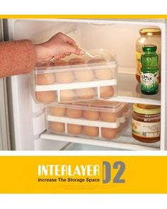 EGG SAFE BOX - STORAGE / CARRY CASE - 24 EGGS - NO MORE MESS  (COMING SOON)
