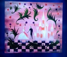Mary Blair Concept for Cinderella