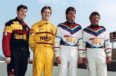 Four Andrettis in the field for the 1991 #Indy500. Jeff, John, Michael and Mario