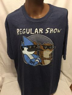 Cartoon Network REGULAR SHOW Dudes Distressed 3XL TSHIRT NEW NWT  | eBay