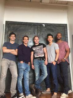 'Shadowhunters' Photo Exclusive: Matthew Daddario and the Men of 'Shadowhunters' – TMI Source