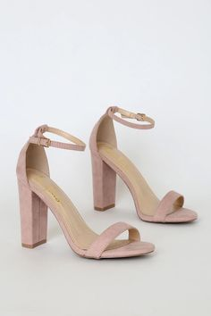 Bridesmaid Heel Option :: Order in Blush