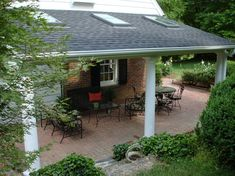 backyard covered patio ideas | Covered patio experts of the Piedmont Triad