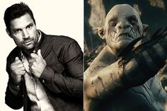 Mannu Bennett - Azog,  a powerful Orc who became the leader of the Goblins of Moria  (LOTR)