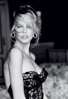 Top models: Claudia Schiffer