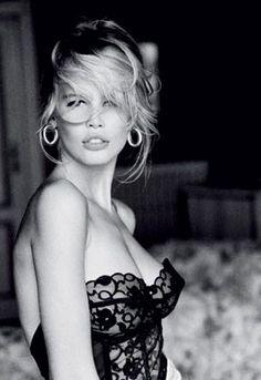 Top models: Claudia Schiffer