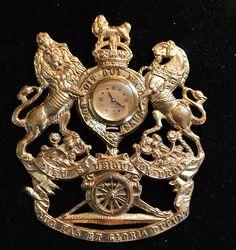 Large Otto Grun Watch Brooch - New York - 1940's